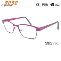 China reading glasses with metal frame, hot fashionable style,suitable for  women wholesale
