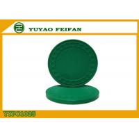 China One Color Diamond Light Clay Poker Chips 8 Grams With Soft Feeling 40 * 3.3mm wholesale