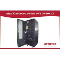Three - phase IGBT rectifier online twin - chiannel line input 110V UPS 30KVA / 24KW