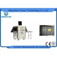 China High Clear Image Airport Baggage Scanner Small Size With Single Energy X-Ray Generator wholesale