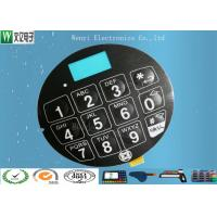 China Blue LCD Window FPC Membrane Switch With 3M468 Back Adhesive Matte Finish wholesale