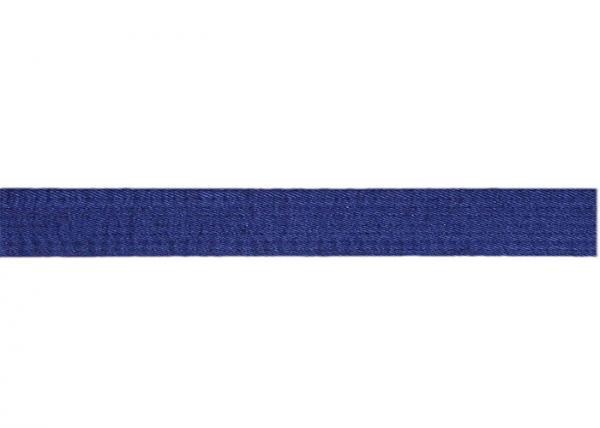 Quality Fashion Thicker Heavy Embroidered Jiu Jitsu Belt Blue With 100% Hemp for sale