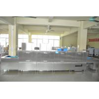 China Single Tanks Flight Type Dishwasher For Restaurants 1900H 6700W 850D wholesale