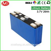 China China customized 24V rechargeable battery Li-ion with BMS for energy storage system wholesale