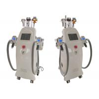 China Cavitation RF Cryolipolysis Fat Freeze Slimming Machine With Vacuum Therapy For Salon on sale