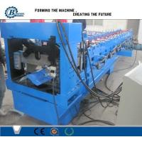 China Color Coated Steel Roofing Step Ridge Cap Sheet Making Machine Roller Forming Machine wholesale