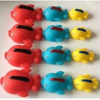 China Rubber Natural Rubber Baby Toys,Sea Creature Bath ToysWith Magnetic Connectors wholesale