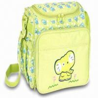 China Diaper Bag, Made of Polyester, Measuring 9.25 x 6 x 8.25 Inches wholesale