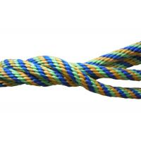 Quality Multicolor Braided nylon / Polypropylene Non Elastic Tape Rope spandex fabric for sale