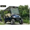 China 6 carros de golf eléctricos cómodos del pasajero para el ahorro de la energía de la montaña wholesale