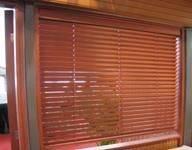 China Wood plastic composite window blind on sale