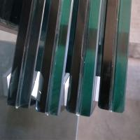 China clear 12 mm heat strengthened PVB laminated glass price,used for glass railngs/balustrade wholesale
