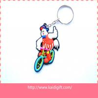 Custom Designs PVC Keychain Soft PVC Keyring Rubber Key Holder
