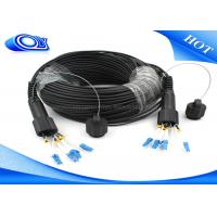 Quality Waterproof Outdoor Fiber Optic Patch Cord ODLC / PDLC Duplex or Simplex for sale