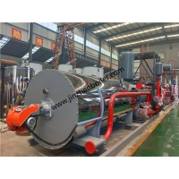 China Industrial Horizontal Hot Oil Heater Gas Fired Thermal Oil Boiler For Vegetable Oil Refining wholesale