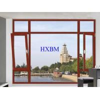 China Strength Enhanced Alu Wood Windows , Customized Color Alu Clad Timber Windows wholesale