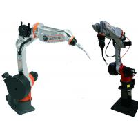 China Steel Plates Arc Welding Robot , Automatic Mig Welding Machine Well Knit Structure on sale