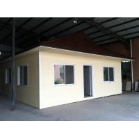 China Customized Prefab Bungalow Homes Angle Steel Frame, Flat Packed With East Timor Style Roof wholesale