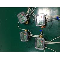 China Brass Body Ultrasonic Flow Meter , DN20mm Digital Water Meter With M - BUS AMR System on sale