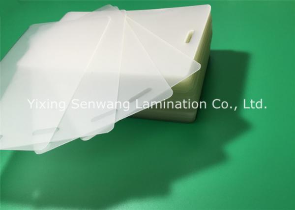 Quality Poches de stratification perforées 10 mils, 250 feuilles de stratification thermiques d'épaisseur de MIC for sale