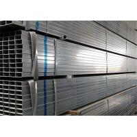 China Hot Dipped Galvanized Steel Rectangular Pipes wholesale