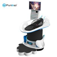 China Crazy 360 Degrees 9D Virtual Reality Simulator Thrilling Experience VR Slide With Glass wholesale