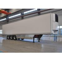 China 45ft Tri Axles Refrigerated Truck Trailer With Thermoking Refrigerator Units wholesale