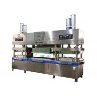 China Manually Moulded Pulp Disposal Paper Plate Making Machine for Paper Cup / Plates / Bowls Forming wholesale
