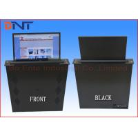China Motorized 15.6 Inch Touch Screen LCD Monitor Lift For Paperless Office System wholesale