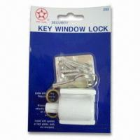 China Zinc Alloy Key Window Lock, Suitable for Aluminum and Wooden Windows wholesale