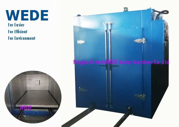Quality Blue Automatic Powder Coating Machine , Varnish Industrial Powder Coating Oven for sale