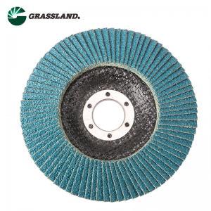 China 115mm 60 Grit Zirconium Angle Grinder Sanding Flap Disc wholesale