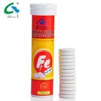 Label Customized White Effervescent Tablets With Fruit Flavour HALAL Certified