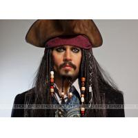 Jack Sparrow wax figure / Realistic Celebrity Wax Figures Pirates of the Caribbean / movie waxwork