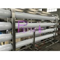 China UV Sterilizer Mineral Filtration Water treatment System With Stainless Steel Water storage tanks wholesale