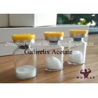 China Peptide Protein Hormones Ganirelix Acetate For Adult With Lab Supply Lyophilized Powder on sale