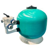 China Side Mounted Fiberglass Sand Filter For Above Ground Pool Custom Color And Size on sale