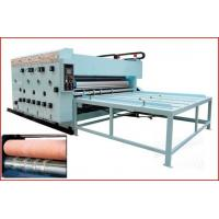 China Chain type Flexo Printer Die-cutter with Removable Slotting,Printing+Die-cuttting+Slotting wholesale