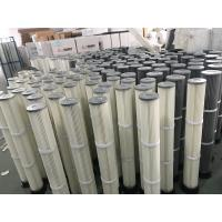 China Industrial Polyester Pleated Dust Cartridge Pulse Dust Filter Bag OEM Design wholesale