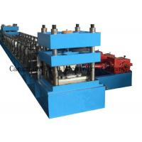 China 2 or 3 Waves Highway Safety Standard Size W Beam Guardrail Making Machine wholesale