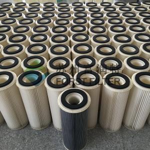 China FORST Industrial Polyester Media Hepa Air Filter Cylinder Cartridge Manufacturer on sale