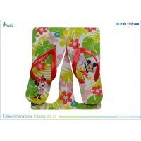 China Cartoon Style EVA Flip Flops Mens Shoes Size 10  Full Color Printing on sale