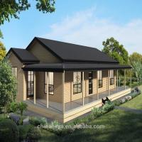 Buy cheap Luxury Prefab Light Steel Structure Villa High Strength Small Prefab House from wholesalers