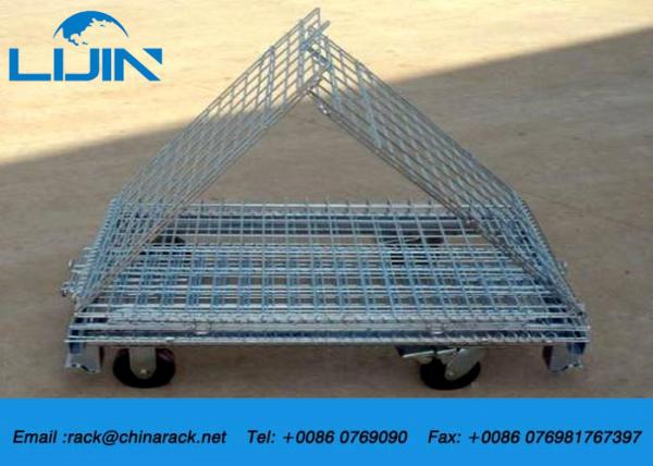Quality Industrial Steel Mesh Storage Cages , 1200 * 1000 * 890mm Wire Security Cage for sale