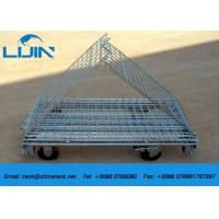 China Industrial Steel Mesh Storage Cages , 1200 * 1000 * 890mm Wire Security Cage wholesale