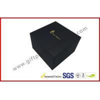 China LID AND BASE gift box for smart watch small device , matt black cube boxes wholesale