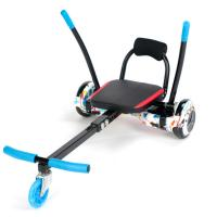 China Balancing Two Wheel Scooter Go Kart Chair , Hoverboard Sitting Attachment wholesale