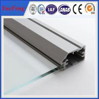 China factory aluminium glass door frame profile, aluminium bathroom doors, aluminium door frame on sale