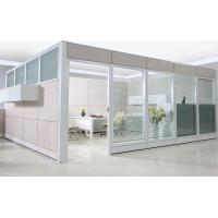 Buy cheap 83mm C10 Double glass Partition Walls CD-8832 with Tiles-base System from wholesalers