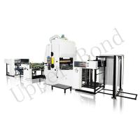 China 8.5T Vertical Laminating Automatic Foil Stamping Machine for BOPP Film on sale